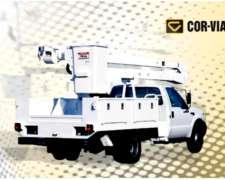 Hidroelevador Sobre Chasis Camión Corvial