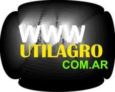 Dominio Web Utilagro.com.ar , Inversiones, Negocios