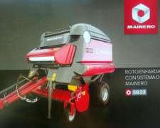 Nueva Rotoenfardadora Mainero Mod. 5832 Cutter