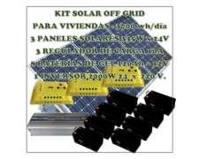Sistema de Paneles Solares 3700 Wh/días