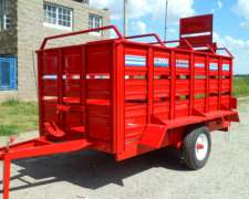 (vaquero/jaula) Para Trasportar Cerdos Marca Agrodel