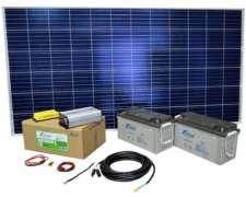 Kit Solar Autoinstalable N°3 - Generación 1260 Wh/día.