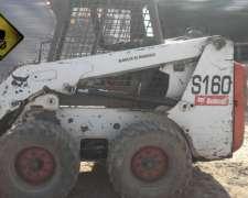 Minicargadora Bobcat S160 2007 6000hs Financio Todo Vial
