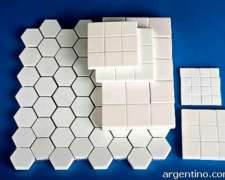 Cerámicas Anti Desgaste, Alta Alúmina - Hexagonales O Cuadra