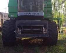 Cosechadora Agco Allis 550