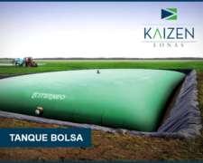 Tanque Bolsa De Hasta 100.000 Lts, Kaizen Lonas - Citerneo