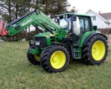 Tractor John Deere 6430 con Cargador Frontal