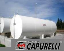 Tanque de Acero 30.000 Lts. Capurelli