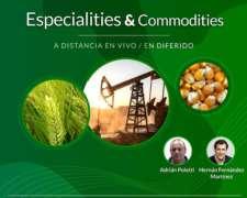 Specialities y Commodities 2020