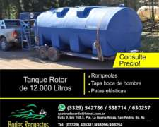 Tanque Rotor de 12.000 Litros Horizontal