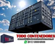 Contenedores Maritimos Obrador Containers 40 Pies Neuquen