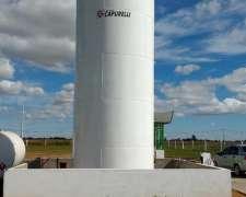 Tanque Metalico 40.000 Lts. Capurelli - Combustibles