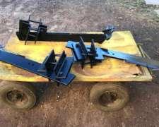 3 Timones Subsolador Agroflex 45 cm Profundidad
