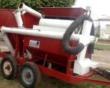 Inoculador ,fertilizador Alassia de 2 Ejes