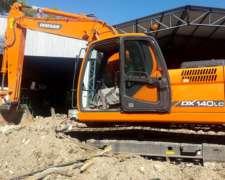 Excavadora Doosan Dx140 Cola Corta - 350 Horas
