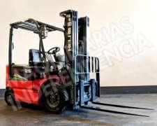 Autoelevador Electrico Heli 2500 Kg CPD25 Desplazador 0km