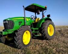 Tractor John Deere 5090e 2015, Único Dueño, Impecable