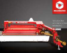 Segadora Acondicionadora de Arrastre Mainero - Modelo 6060