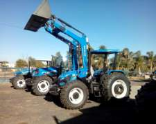 New Holland TL 95 Nuevo C/ Pala Original - Oferta Agroactiva