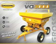 Fertilizadoras de Arrastre VG3000 Grosspal