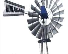 Molino Huracán 8 Pies - Máquina+rueda+cola - Sin Torre