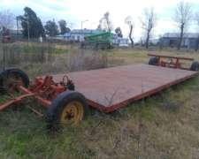 Carreton Playo Gimetal Para 5ton Hidraulico 5x2 Mts
