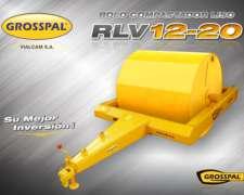 Rolo Compactador Liso Grosspal RVL 12-20