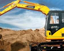 Excavadora Lovol FR80 Motor Isuzu 8 TN Tomamos Permutas