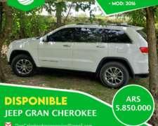 Jeep Gran Cherokee 2016 - SE Acepta Canje