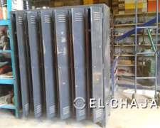 Armario De Chapa De 6 Puertas 1,8 Metro De Alto X 1.5