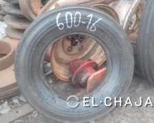 Cubierta Agricola para Tractor Marca Pirelli 600-16 de 6