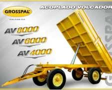 Acoplado Volcador AV8000/6000/4000 Grosspal