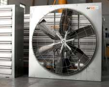 Ventilador Enorme Tambo 1,4 X 1,4 Metros Trifasico 1 HP