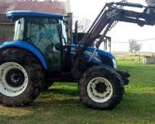 Tractor TD.5 90 con Pala. New Holland Usado