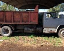 Camión Volcador Chevrolet 814