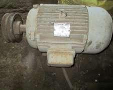 Motor Trifasico Eberle 12.5 HP