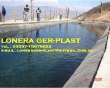 Lago Artificial En Lona Vinilica