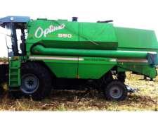 Cosechadora Agco Allis Optima 550, Doble Tracción.