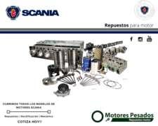 Repuestos para Motores Scania - Todo para TU Scania