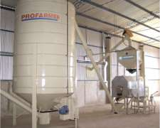 Línea De Desactivado De Soja De 500 Kg/hora
