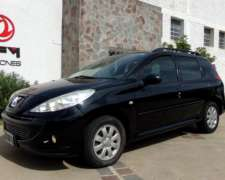 Peugeot 207 1.6 Sw Compact Xs Año 2011, Impecable