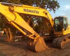 Excavadora Komatsu PC 200 2017