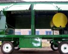 Imperdible Acoplado Taller con Tanque D Combustible Plastico