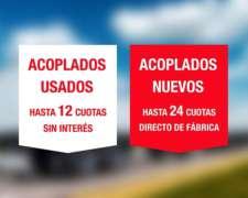 Acoplados Usados En Córdoba / 12 Cuotas Sin Interés
