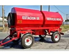 Acoplado Tanque Cisterna para Expender Combustible 6000 Lts