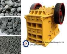 Trituradora De Mandíbula Para Piedra, Mineral, Escombro, Etc
