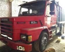 Scania 113e, 6x4, Volcadora 17,5 Mts3