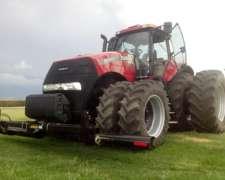 Equipo Pisa Rastrojo Ind. Airasca para Tractor Case Magnum.