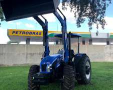 Tractor New Holland TL 95 e con Techo y Pala