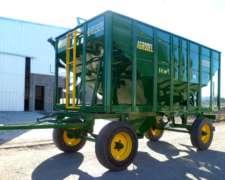 Tolvas P/semillas y Fertilizantes de 14tt/ 16m Marca Agrodel